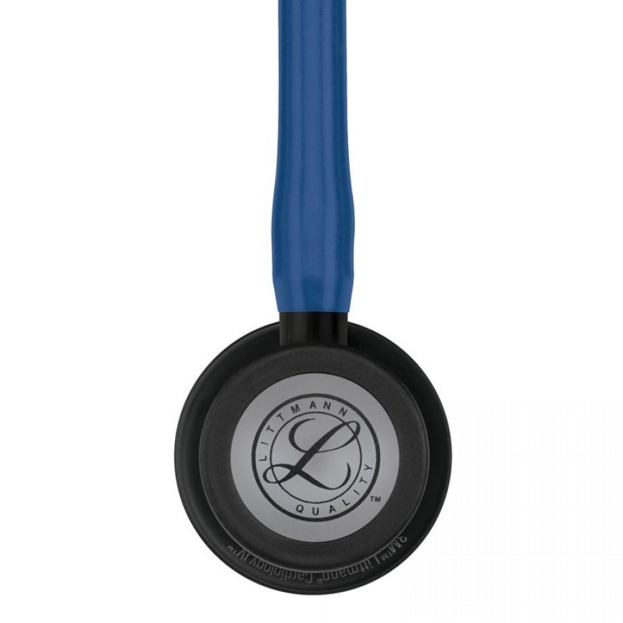 Stetoskop 3M™ Littmann® Cardiology IV™ Black-Finish ( głowica i lira w kolorze czarnym, granatowy przewód)