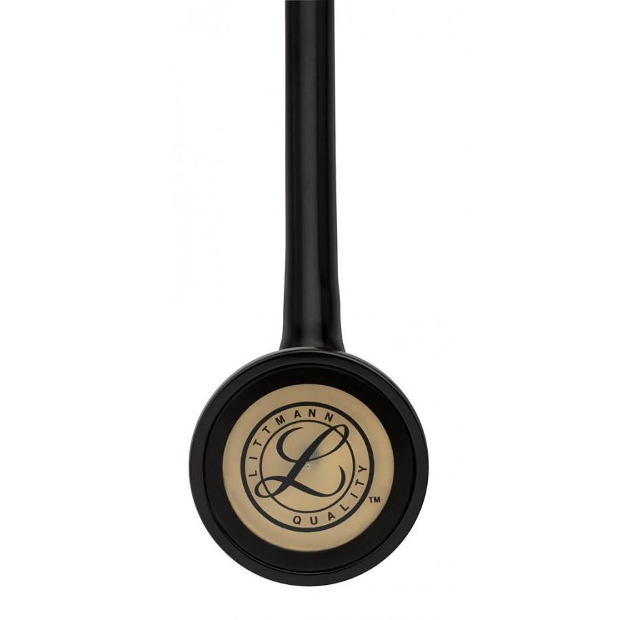 Stetoskop 3M™ Littmann® Master Cardiology - BRASS EDITION (lira i głowica w kolorze mosiądzu + czarny przewód) + Oryginalne Etui 3M™