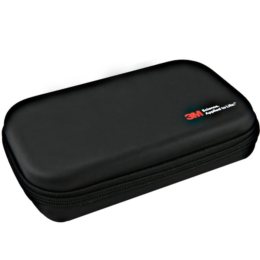 Stetoskop 3M™ Littmann® Cardiology IV™ , High Polish Smoke-Finish, przewód czarny, trzonek czarny i lira czarna + Oryginalne Etui 3M™