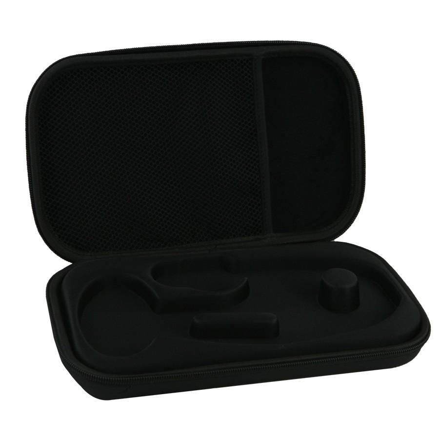 Stetoskop 3M™ Littmann®  Classic III™, Mirror-Finish, przewód śliwkowy, trzonek różowy, lira smoke + Oryginalne Etui 3M™