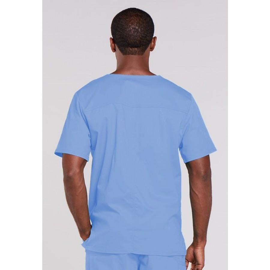 Cherokee - Męska Bluza Medyczna Core Stretch Błękitna