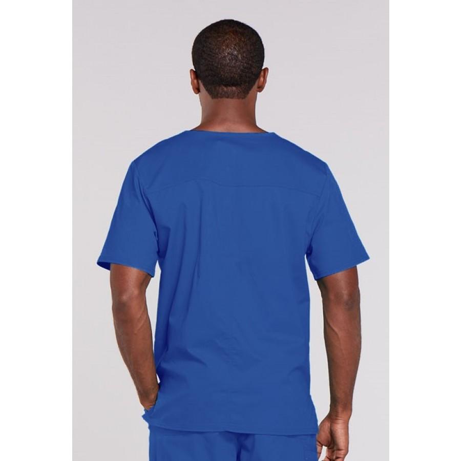 Cherokee - Męska Bluza Medyczna Core Stretch Niebieski Royal