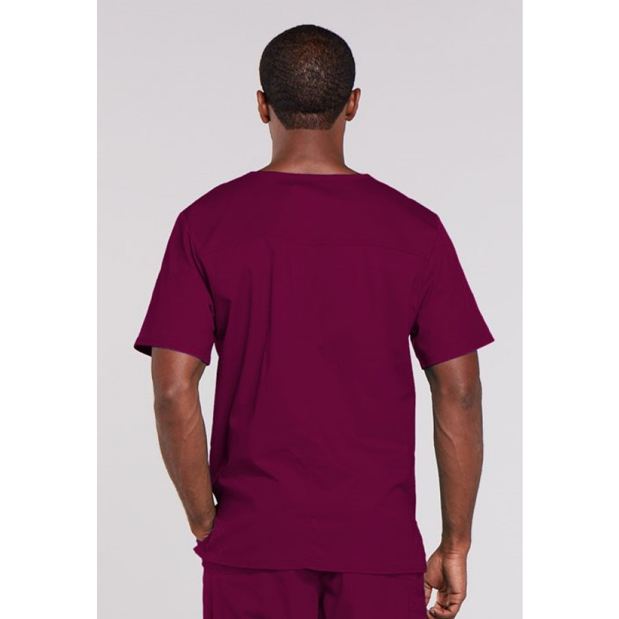 Cherokee - Męska Bluza Medyczna  Core Stretch Wino