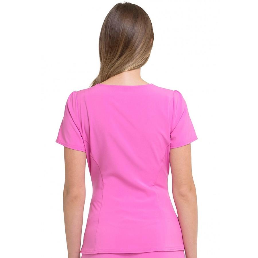 Cherokee - Bluza Medyczna HeartSoul Różowa