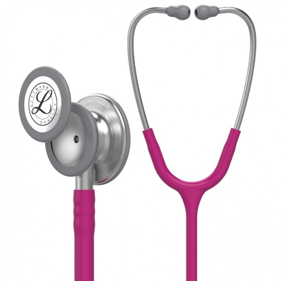 Stetoskop 3M™ Littmann® Classic III™ - malinowy + Oryginalne Etui 3M™