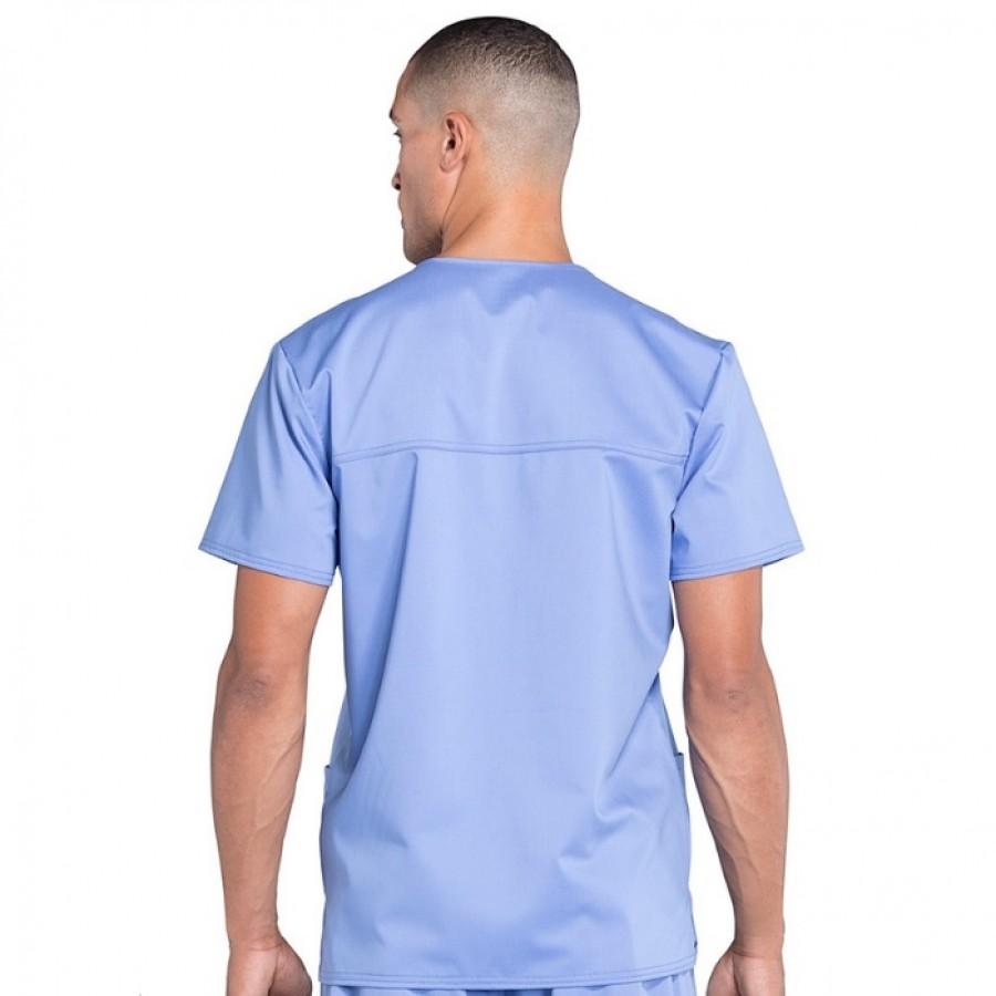 Cherokee - Męska Bluza Medyczna Revolution Błękit