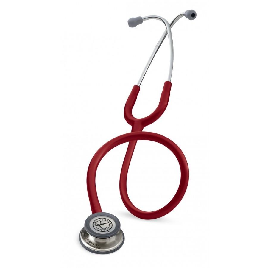 Stetoskop 3M™ Littmann® Classic III™, głowica ze standardowym wykończeniem, przewód w kolorze burgund