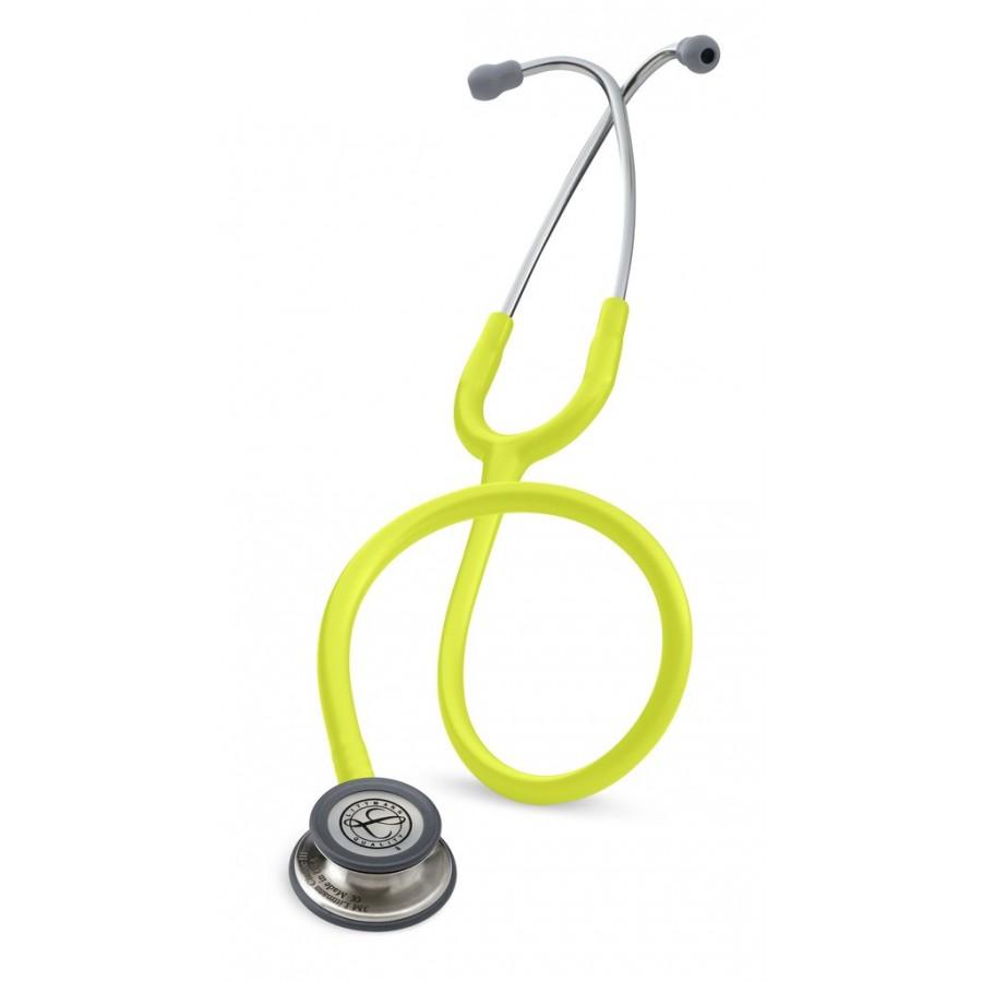 Stetoskop 3M™ Littmann® Classic III™, głowica ze standardowym wykończeniem, przewód w kolorze limonki