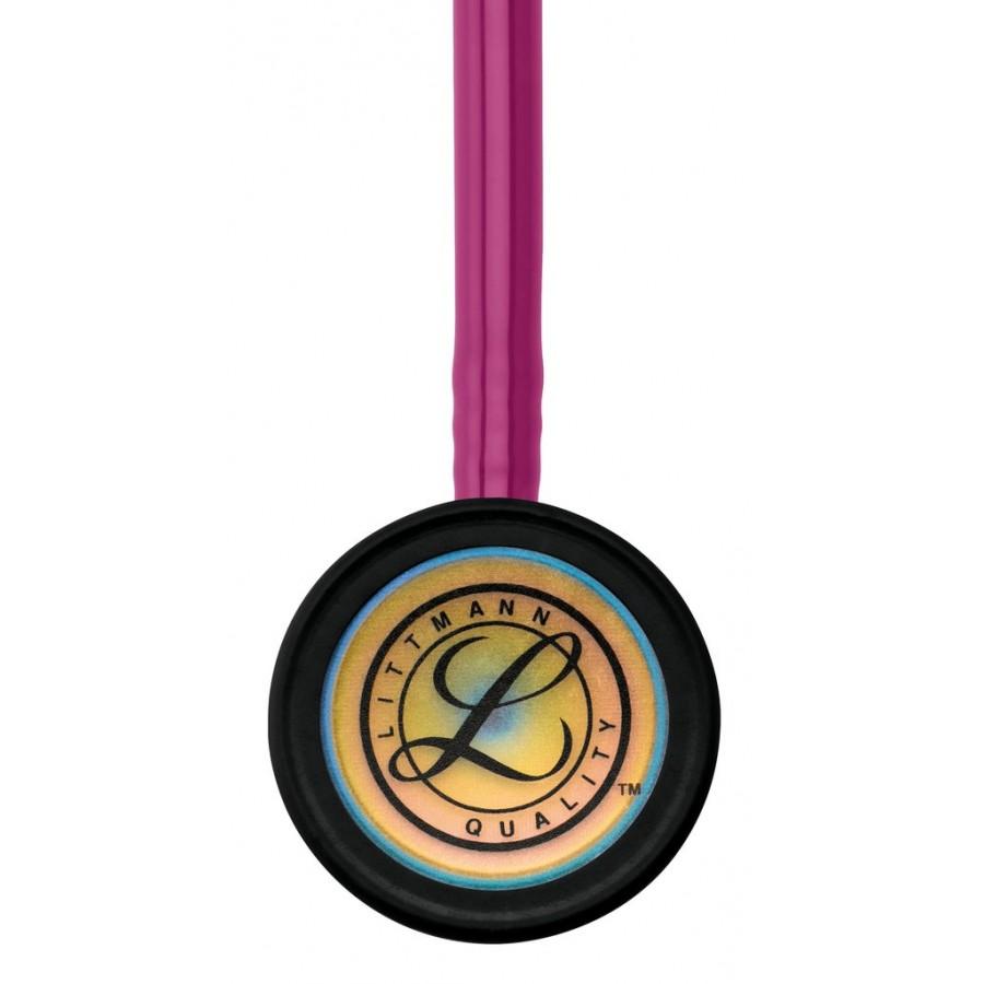 Stetoskop 3M™ Littmann® Classic III™, RAINBOW EDITION (tęczowa lira i głowica + przewód malinowy)