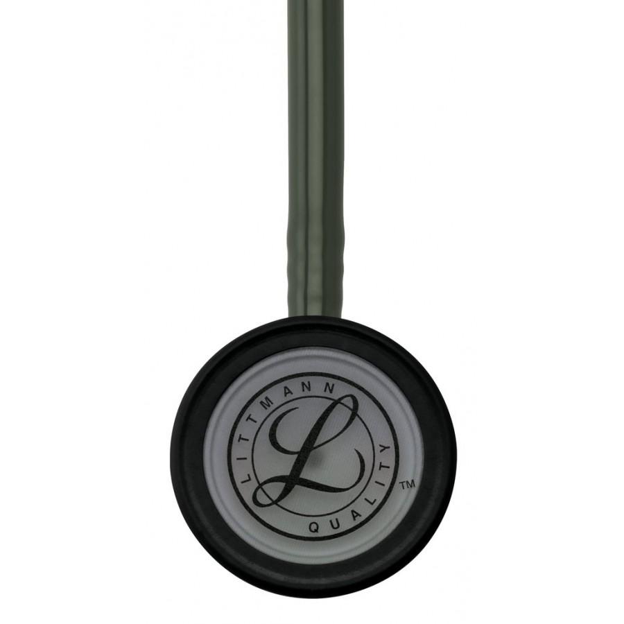 Stetoskop 3M™ Littmann® Classic III™,  SMOKE (ciemnoszara, matowa lira i głowica + oliwkowy przewód )