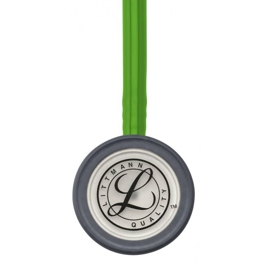 Stetoskop 3M™ Littmann® Classic III™, głowica ze standardowym wykończeniem, przewód w kolorze zielona limonka