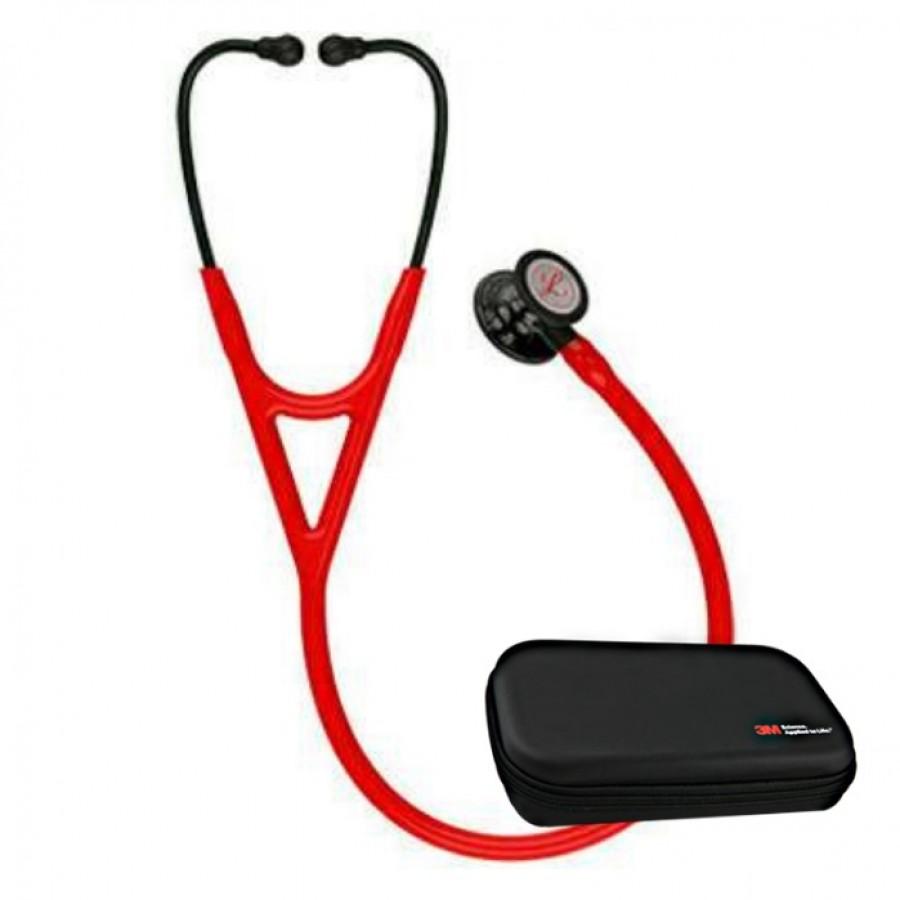3M™ Littmann® Cardiology IV™ stetoskop, przewód czerwony, kolekcja limitowana + Oryginalne Etui 3M™
