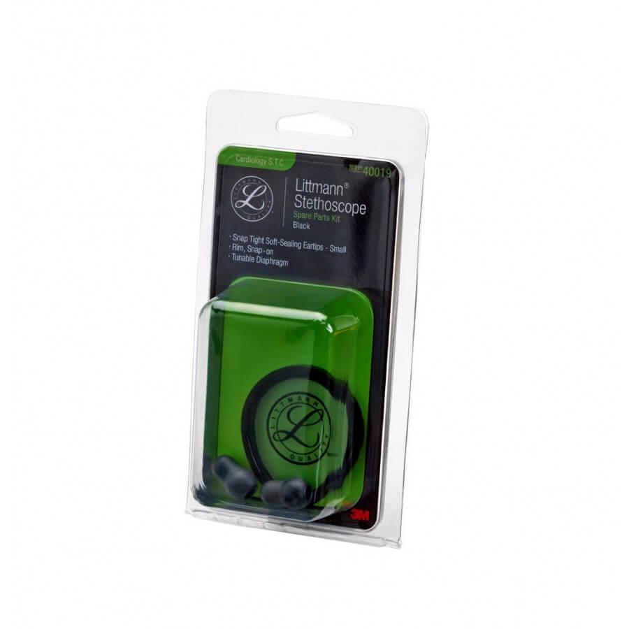 3M™ Littmann® Stetoskop, zestaw naprawczy, Cardiology S.T.C. - Black