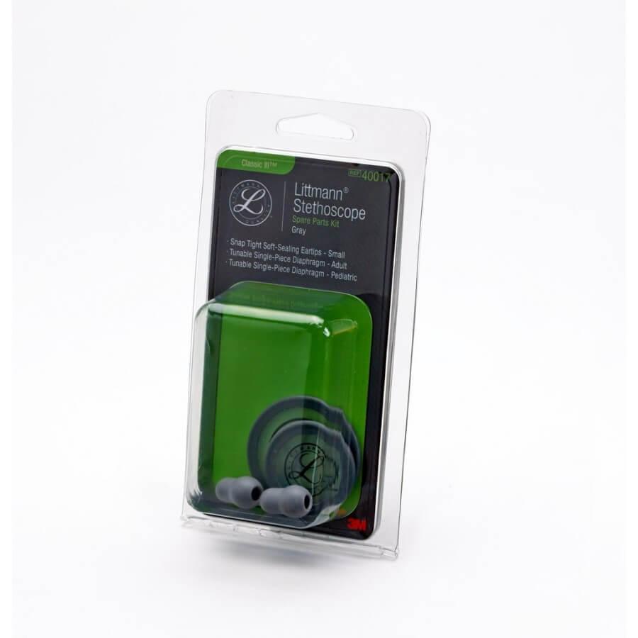 3M™ Littmann® Stetoskop, zestaw naprawczy, Classic III™, Cardiology IV™ - Grey