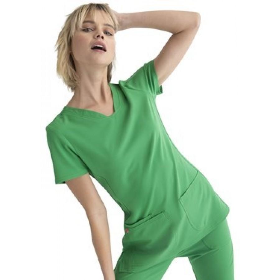 Cherokee - Bluza Medyczna HeartSoul Zielona