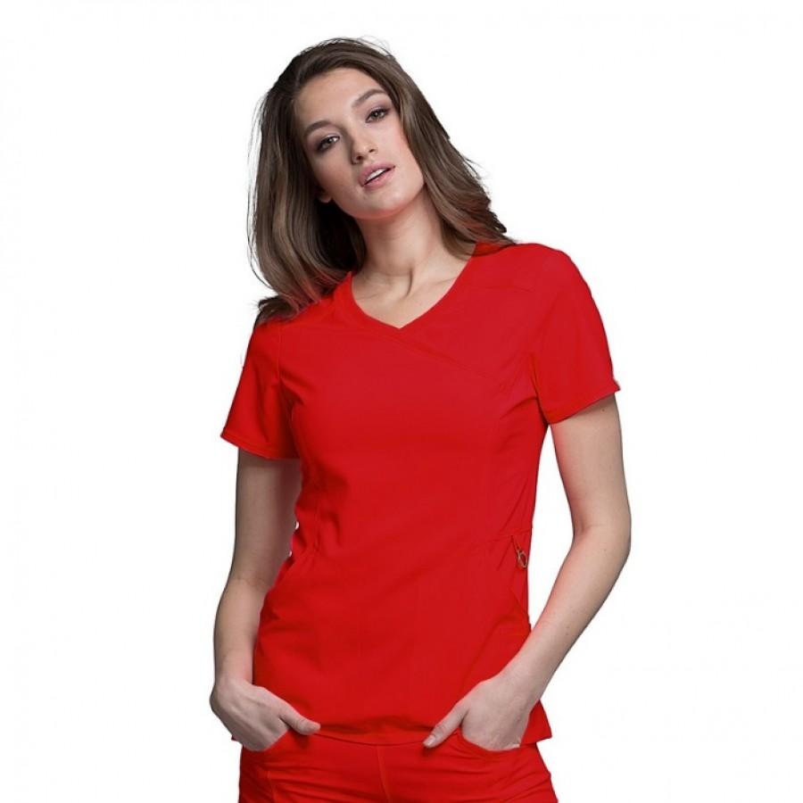Cherokee - Bluza Medyczna Infinity Czerwony