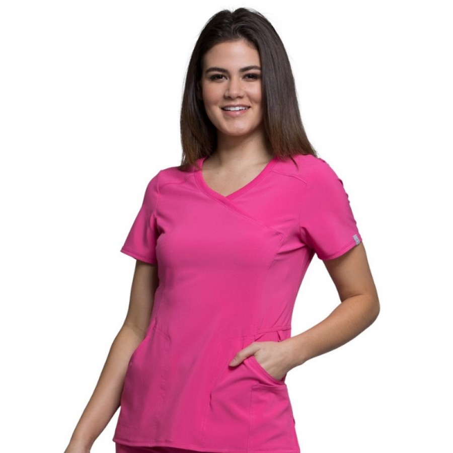 Cherokee - Bluza Medyczna Infinity Róż