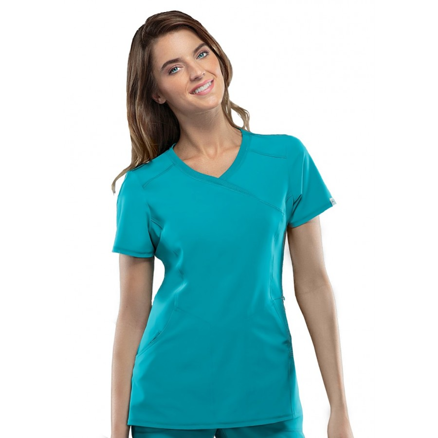Cherokee - Bluza Medyczna Infinity Teal Blue