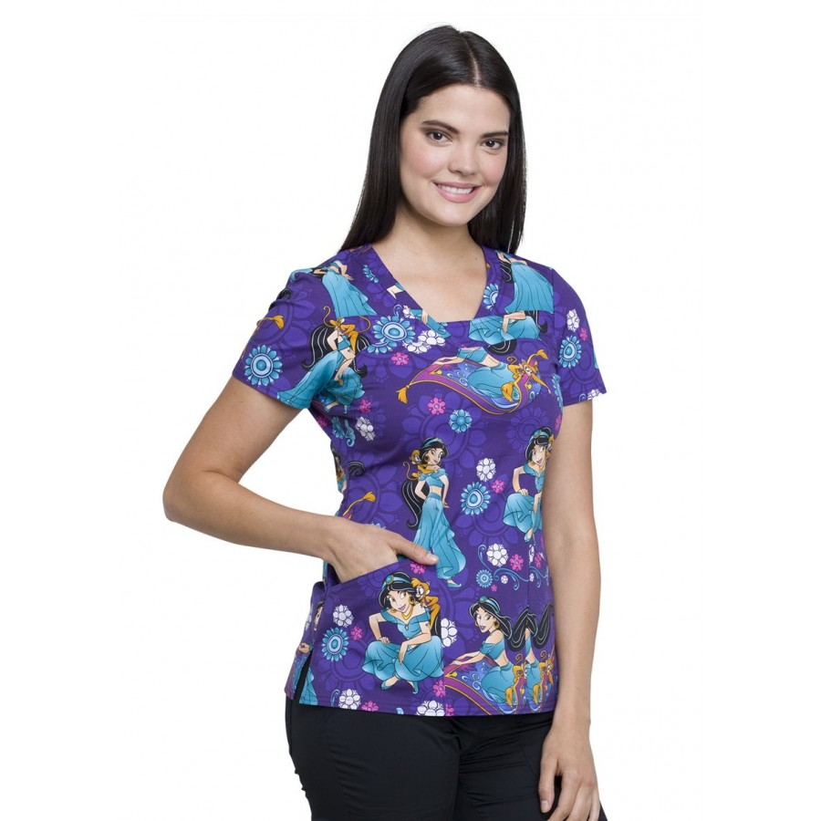 Cherokee - Bluza Medyczna Tooniforms Jasmine and Abu