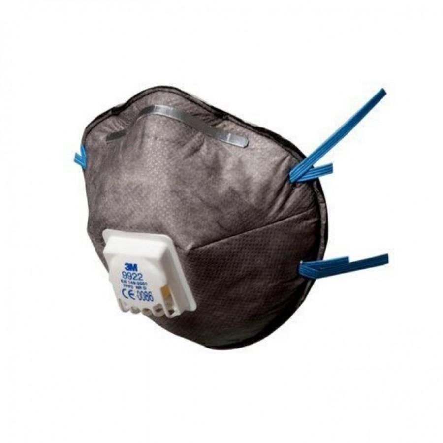 3M™ maska 9922+ Półmaska z zaworkiem FFP2 - 2 szt