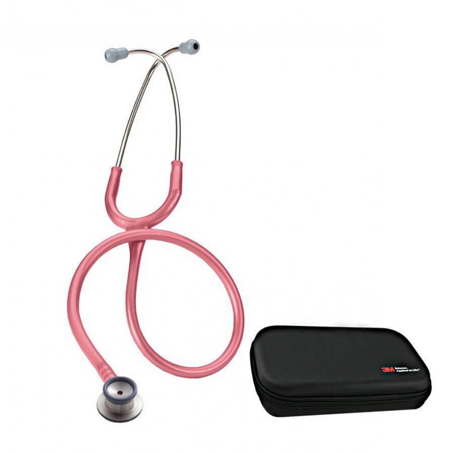 Stetoskop 3M™ Littmann® Classic II Infant - Perłowy Róż + Oryginalne Etui 3M™