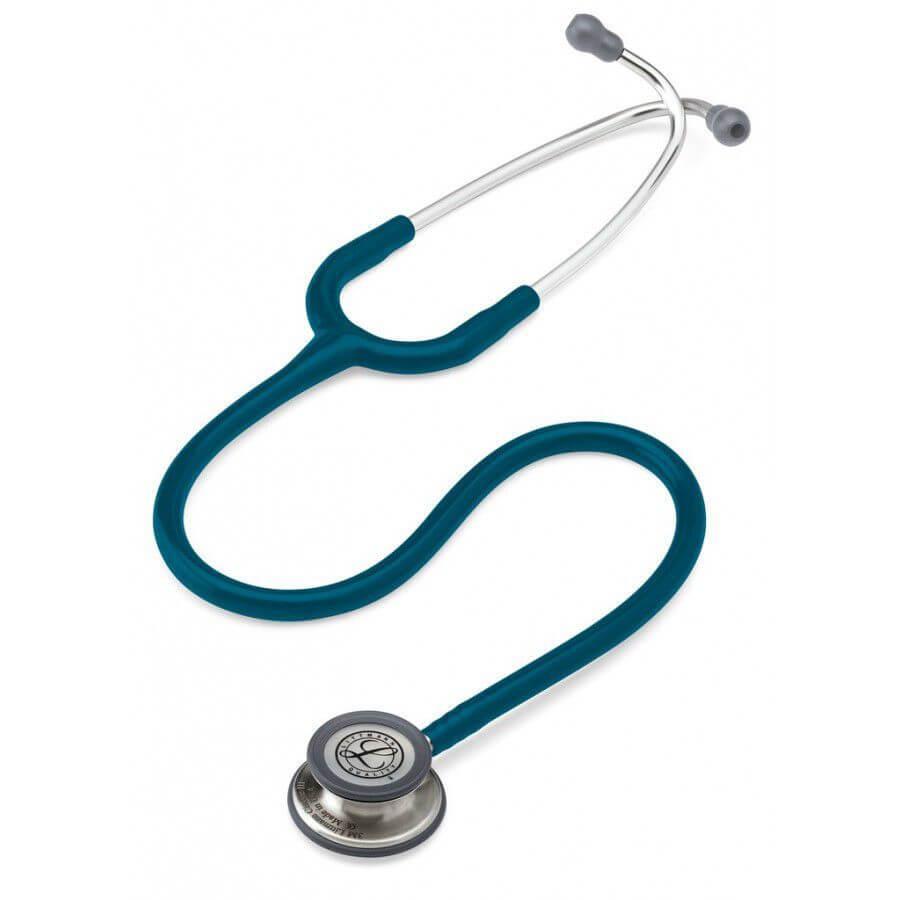 Stetoskop 3M™ Littmann® Classic III™, głowica ze standardowym wykończeniem, przewód w kolorze błękit karaibski