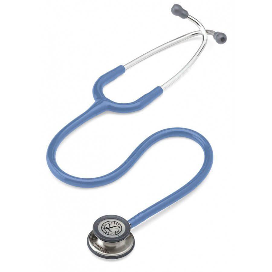 Stetoskop 3M™ Littmann® Classic III™, głowica ze standardowym wykończeniem, przewód w kolorze jasnobłękitnym