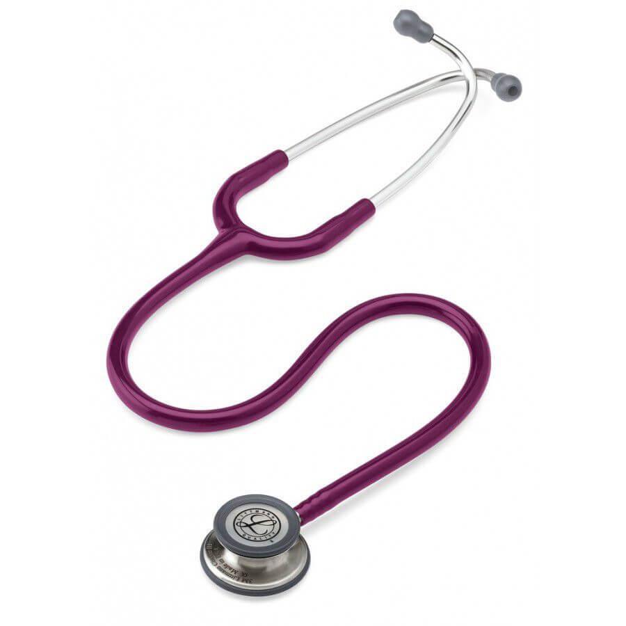Stetoskop 3M™ Littmann® Classic III™, głowica ze standardowym wykończeniem, przewód w kolorze śliwka