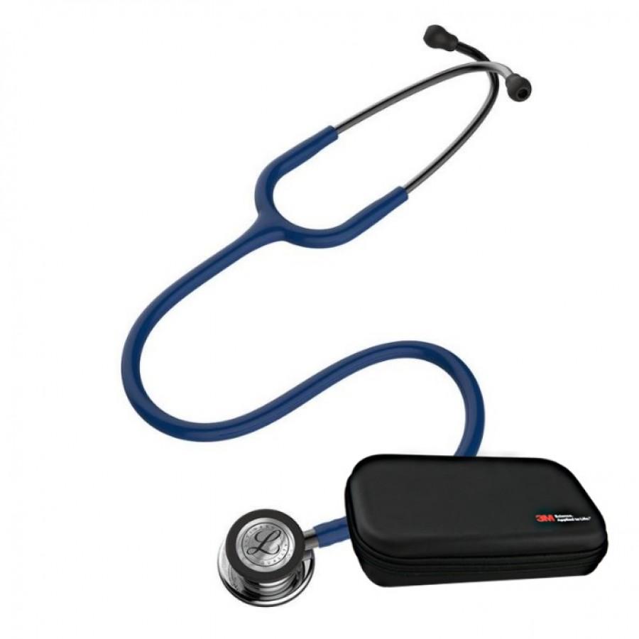 Stetoskop 3M™ Littmann® Classic III™ - Mirror Finish Granatowy  + Oryginalne Etui 3M™