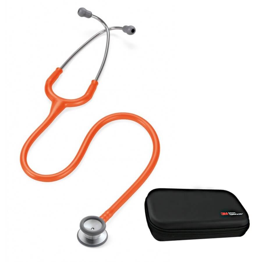 Stetoskop 3M™ Littmann® Classic II™ Pediatric - pomarańczowy