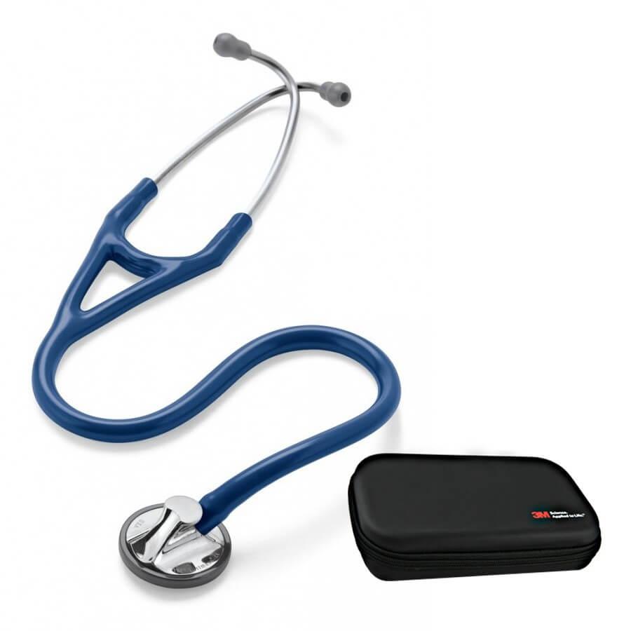 Stetoskop 3M™ Littmann® Master Cardiology - granatowy + Oryginalne Etui 3M™ - Cena promocyjna, uszkodzone pudełko zewnętrzne